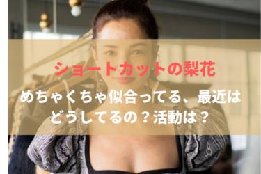 梨花、ショートヘアを公開!最近の活動は?旦那と子供は?現在は日本を拠点に活動!