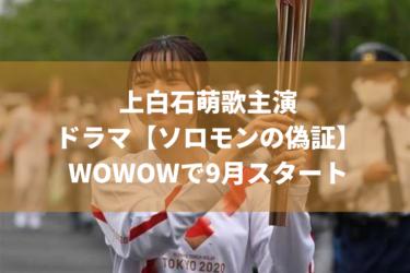 【ドラマ】WOWOWソロモンの偽証はいつから始まるの?三宅樹里役はだれ?