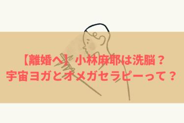 【宇宙ヨガって何?】オメガセラピーで小林麻耶は國光あきらに洗脳された!